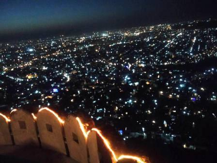 View From Nahargarh Fort - Things To Do In Jaipur