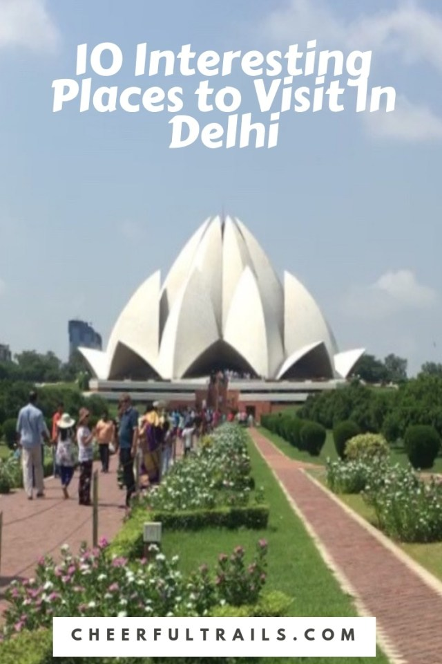 Explore Delhi's main attractions like a pro. Check out my list of top recommended places to visit in Delhi.