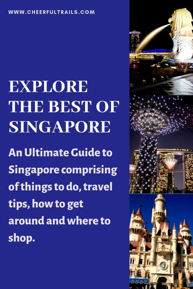 Popularly known as the Lion City, Singapore has become one of the most visited Asian cities. The well planned MRT Rail system in Singapore makes it more accessible for the locals as well as the tourists visiting the city. Here's my ultimate list of places in Singapore that you must make sure to include in your itineraries.