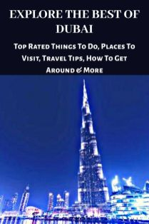 Check out this ultimate list of amazing places to visit in Dubai and incredible experiences you must not miss out on.