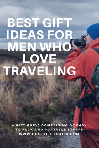 An ultimate list of gift ideas for men who love to travel that would prove to be very useful to them and would definitely make them more cheery.