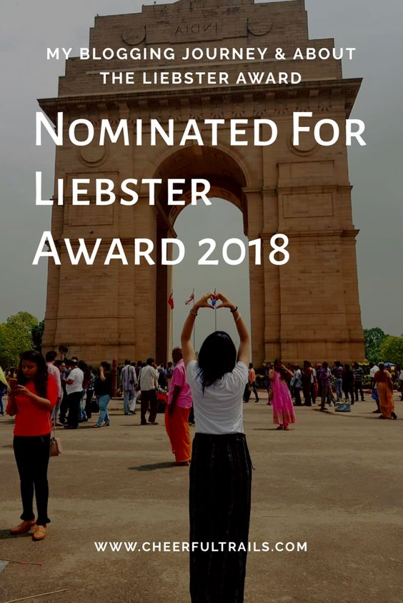 Read About The Liebster Award Nomination & My Blogging Journey