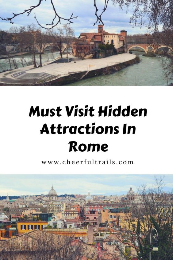 Hidden Rome : 6 Secret Attractions in Rome