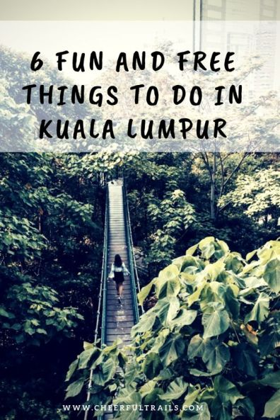 Kuala Lumpur is actually relatively affordable, coupled with the free activities I'm going to list for you here, you'll definitely be able to see everything without breaking the bank!