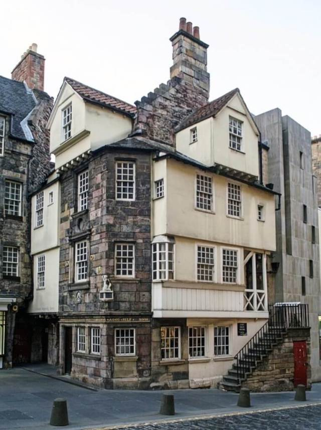 John Knox House in Edinburgh Itinerary