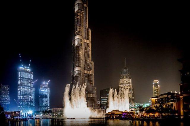 Dubai Fountains - Dubai Itinerary