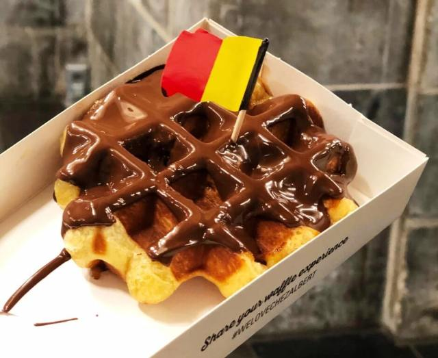 Belgian Waffle - most delicious desserts