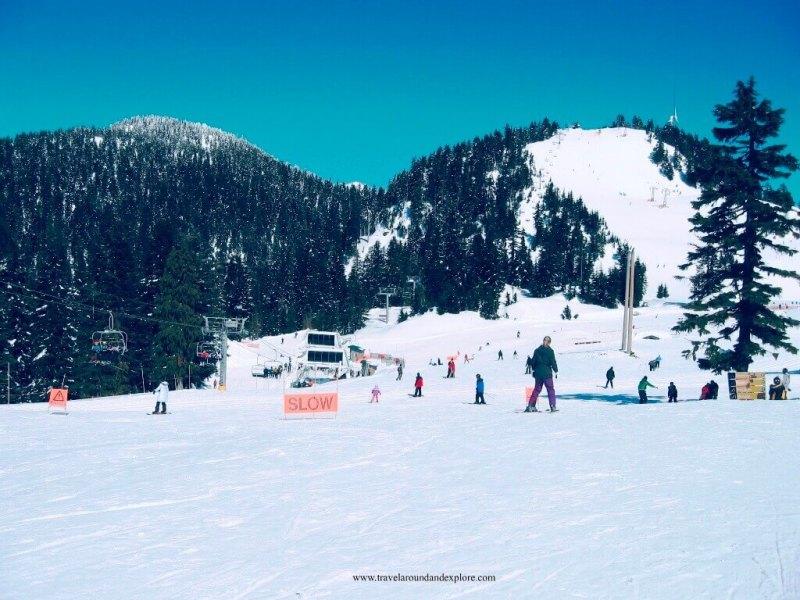 Grouse Mountain Skiing