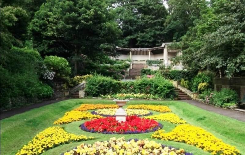 South Cliff Italian Gardens
