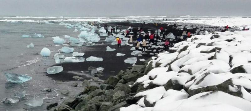 Diamond Beach - Iceland Honeymoon