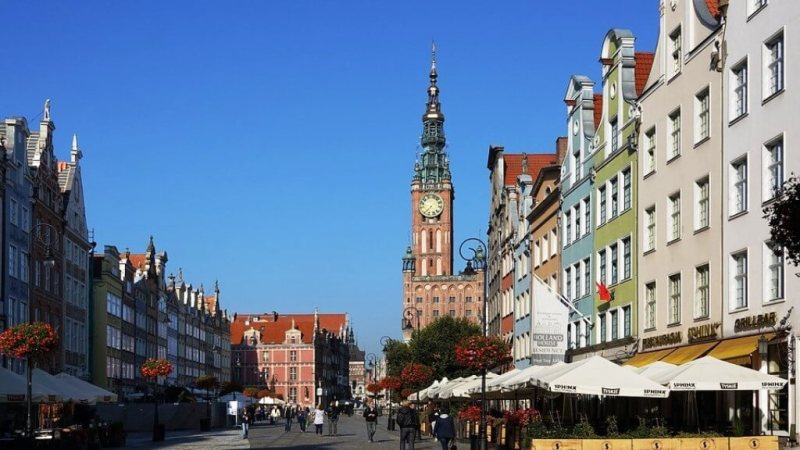 Gdansk - Poland in Winter