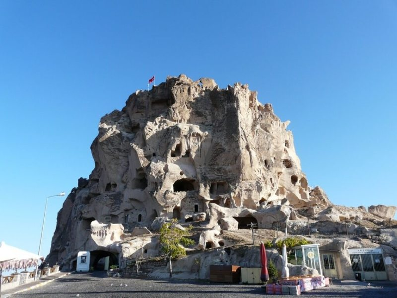 Uchisar Castle - Cappadocia Itinerary