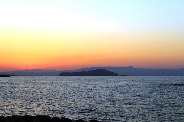 One Of Chania's Beautiful Beaches