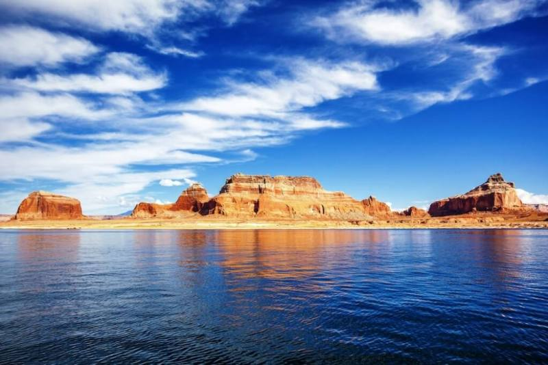 Lake Powell - Beautiful Lakes In The United States