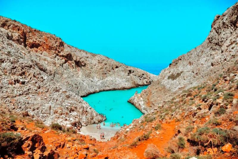 Seitan Limania beach - Things To Do In Chania