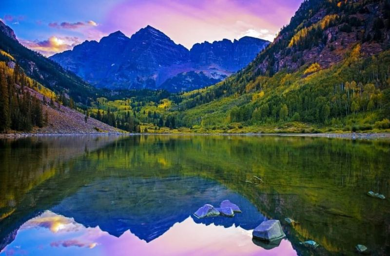 Lake Maroon - Beautiful Lakes in the United States