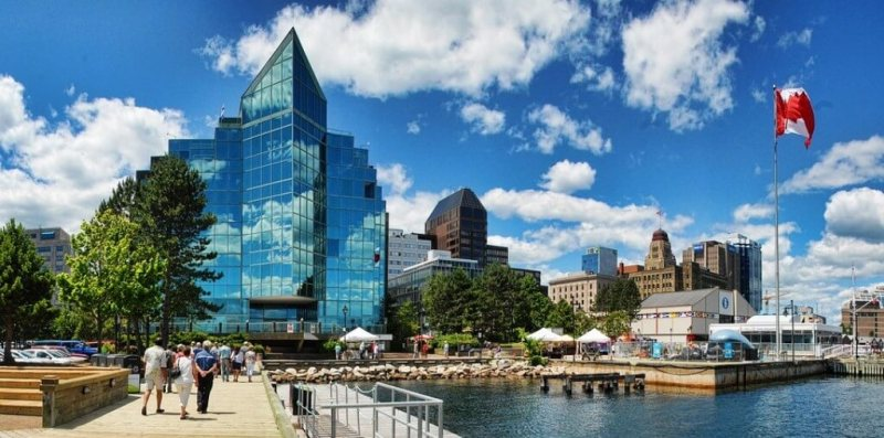 Halifax Waterfront - Halifax in summer