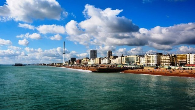 Brighton sea view - Things to do in Brighton on a day trip
