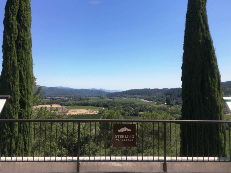 Sterling Vineyards Napa - California Summer Vacation