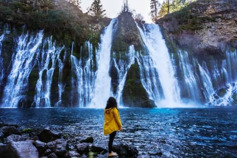 Burney Falls, Shasta Cascade - California Summer Vacation