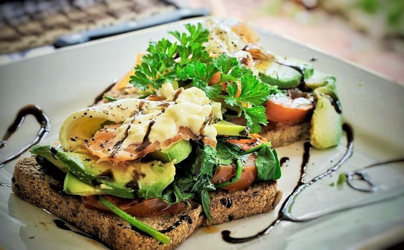 Avocado Toast - Popular Foods In California