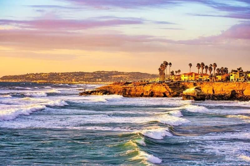 Sunset Cliffs, San Diego - Romantic Getaways In Southern California