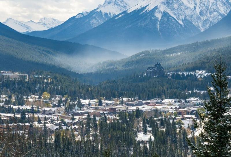 Banff - Places to visit in Canada in winter