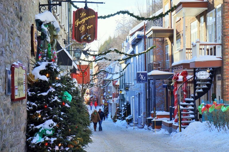 Quebec - Places to visit in Canada in winter