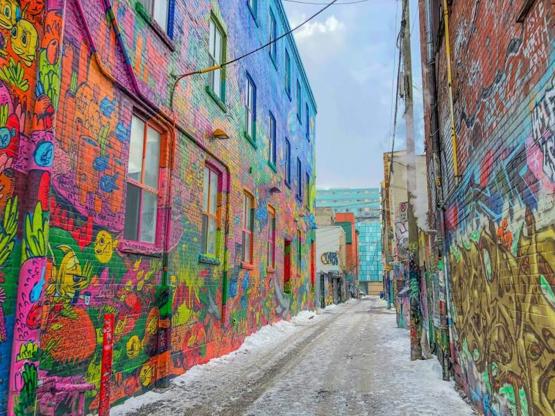 Toronto - Places to visit in Canada in winter