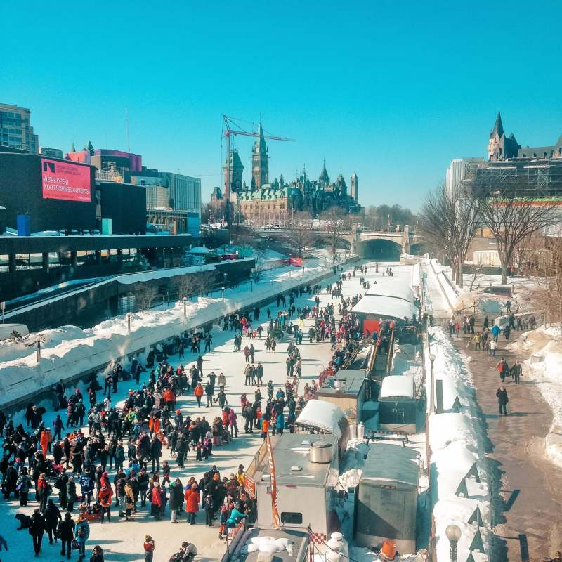 Winterlude - Places to visit in Canada in winter