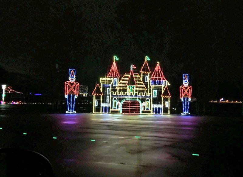 Bristol Speedway Christmas Lights - Tennessee In Winter