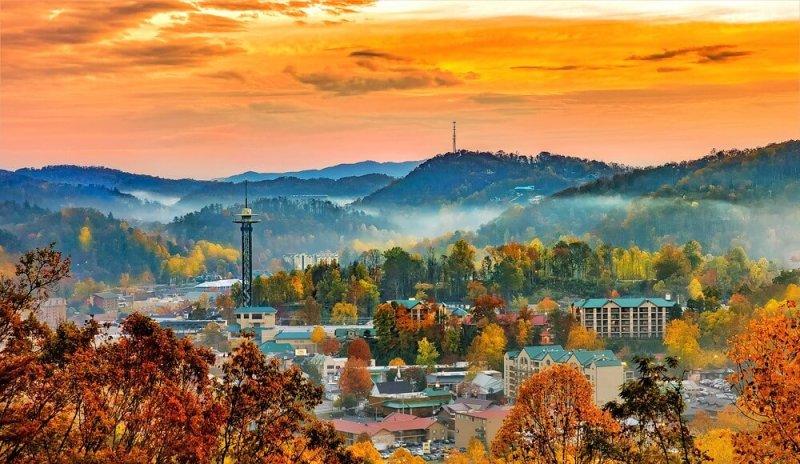 Gatlinburg - Tennessee In Winter