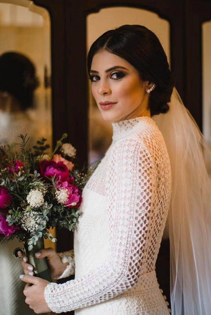 Vestido de noiva para dias mais frios Cheers