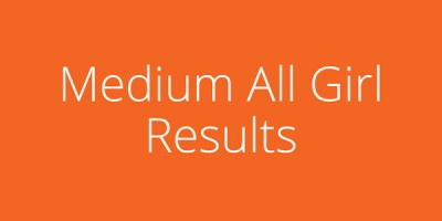 BUTBT Medium All Girl Results
