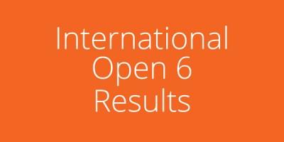 International-Open-6-Results