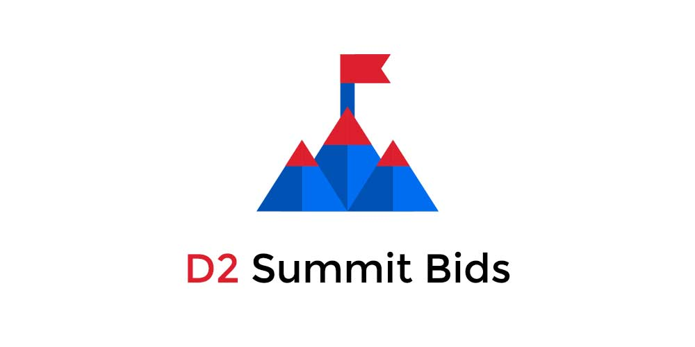 The D2 Summit 2018 Bids and Events