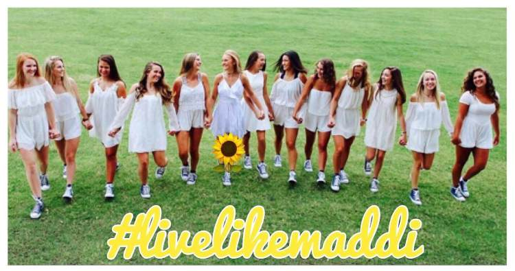 Woodstock High School Cheerleading Live Like Maddi