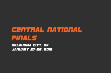 Central-National-Finals 2018