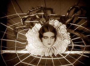 vintage spider woman