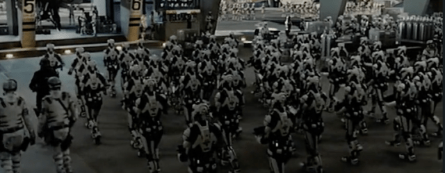 ancillary justice book trailer - army of zombie soldiers in white armor