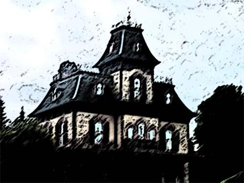 haunted house - cheeseandglory