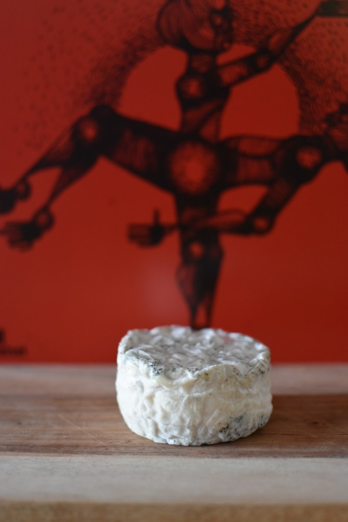 The Peaks Monolith goat's cheese