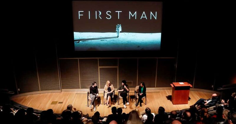 Imágenes de la película de Neil Armstrong