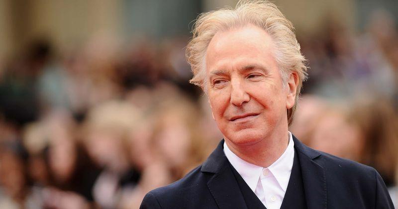 Alan Rickman no estaba contento con el papel de Snape, revela una carta del archivo personal del actor