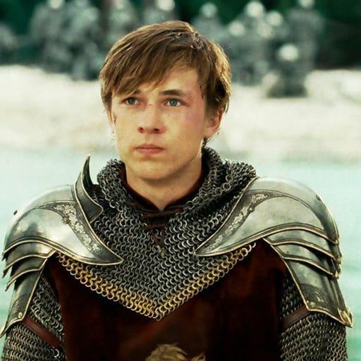 William Moseley como Peter Pevensie en Las crónicas de Narnia
