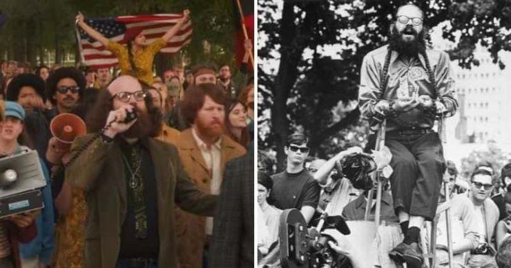'El Juicio de los 7 de Chicago': no solo Allen Ginsberg, aquí están todas las celebridades que han apoyado a los líderes contra la guerra