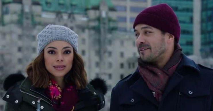 'Christmas Unwrapped': Conoce a Amber Stevens West, Marco Gazzini y el resto del elenco de la película Lifetime Christmas