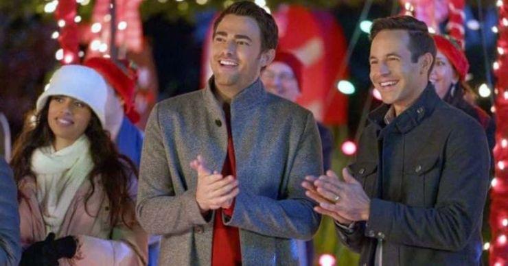 'The Christmas House': Conoce a Jonathan Bennett, Brad Harder y el elenco de la primera película navideña LGBTQ de Hallmark