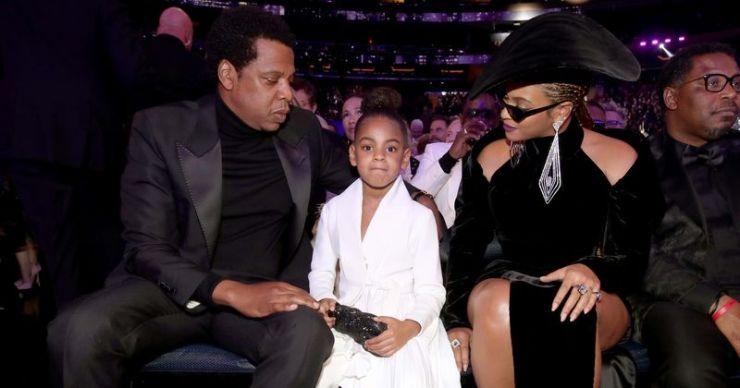 La hija de Beyoncé Blue, Ivy Carter, dice el audiolibro 'Hair Love' y el 'dedo medio' para los que odian, dicen los fanáticos