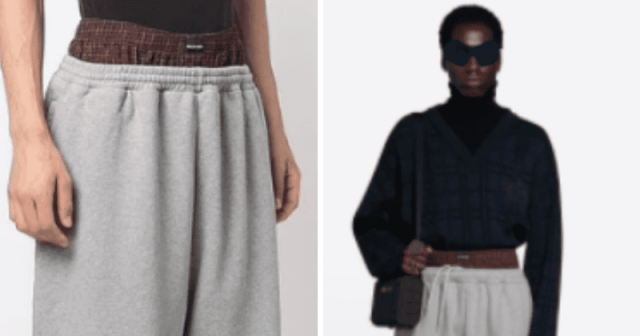 Is Balenciaga racist? Fashion house accused of cultural appropriation over sweatpants